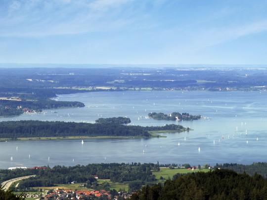 Chiemgau und Chiemsee: See
