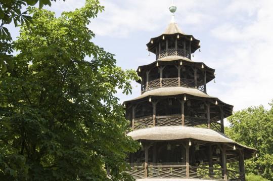 München: Chinesischer Glockenturm