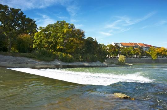 München: Fluss Isar