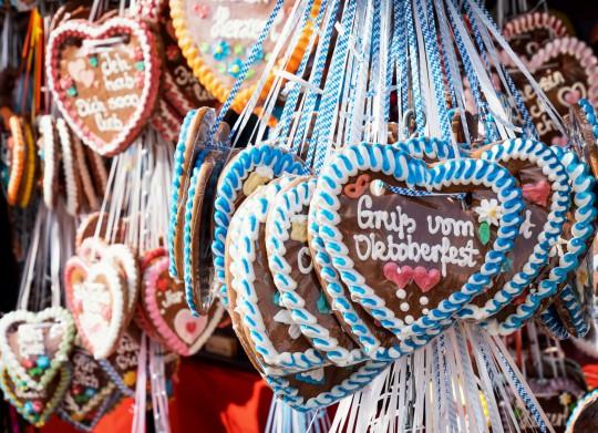 München: Oktoberfest Lebkuchenherz
