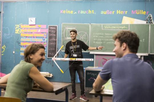 München: Bavaria Filmstadt Fack Ju Goehte
