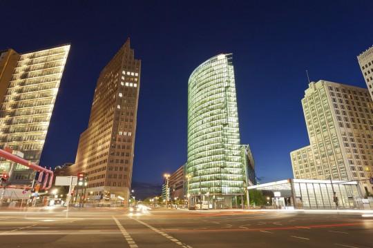 Berlin: Panoramapunkt Kollhoff