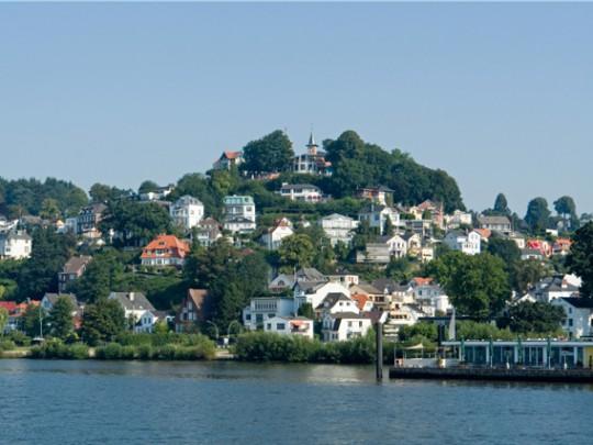 Hamburg: Blankenese