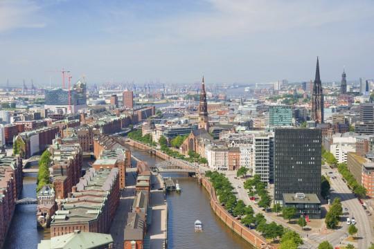 Hamburg: Skyline