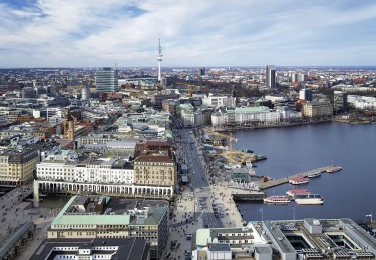 Hamburg: Jungfernstieg