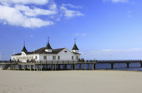 Insel Usedom: Ahlbeck