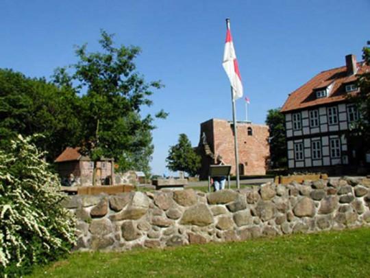 Lüneburger Heide: Burg Bodenteich