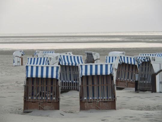 Ostfriesland: Strandkörbe