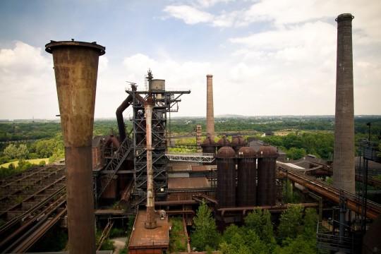 Ruhrgebiet: Duisburg - Landschaftspark Nord
