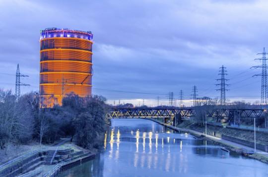 Ruhrgebiet: Oberhausen - Gasometer