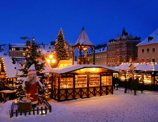 Erzgebirge: Weihnachtsmarkt Annaberg-Buchholz
