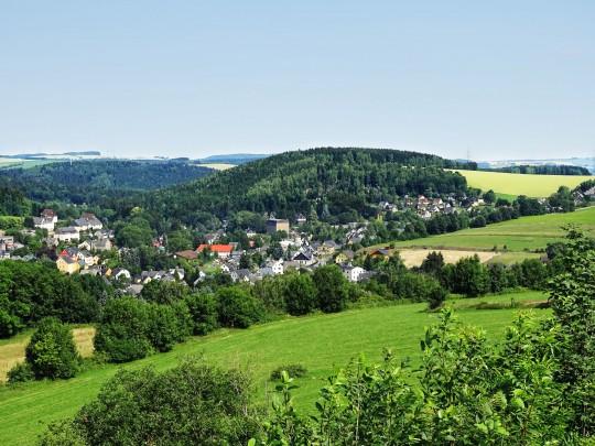 Erzgebirge: Panorama