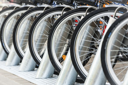 Fahrrad- und E-Bike-Verleih (Symbolbild)