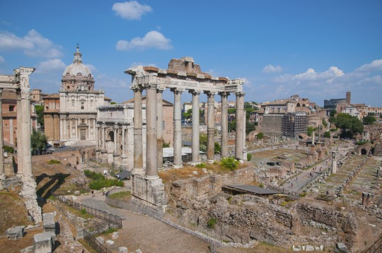 Rom: Forum Romanum