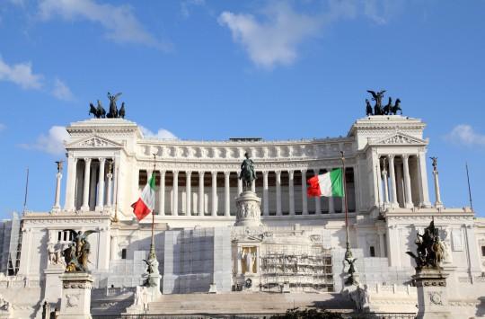 Rom: Monumento Vittorio Emanuele II