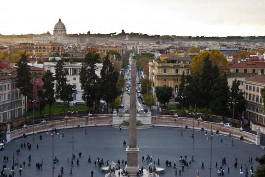 Rom: Piazza del Popolo