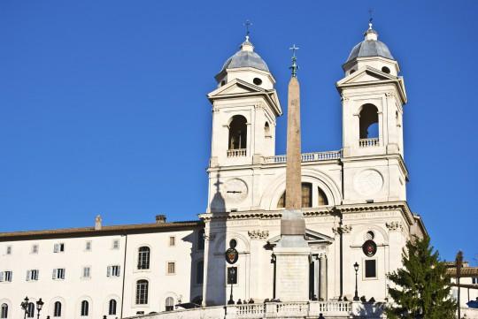 Rom: Santa Trinitá die Monti