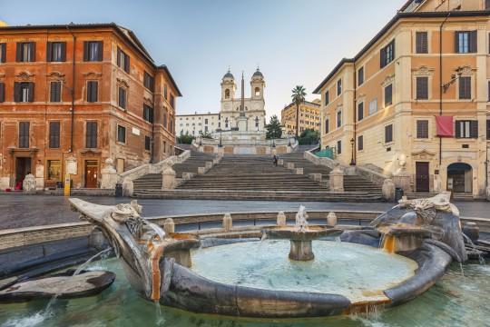 Rom: Spanische Treppe
