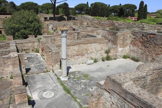 Rom: Ostia Antica