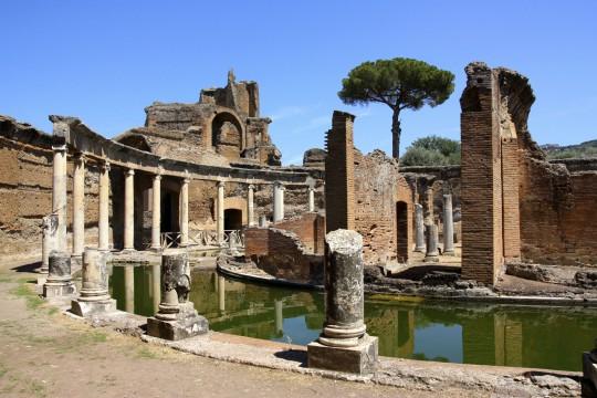Rom: Hadriansvilla