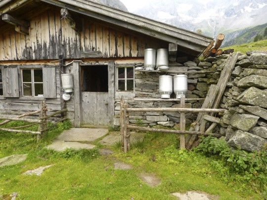 Osttirol: Hütte