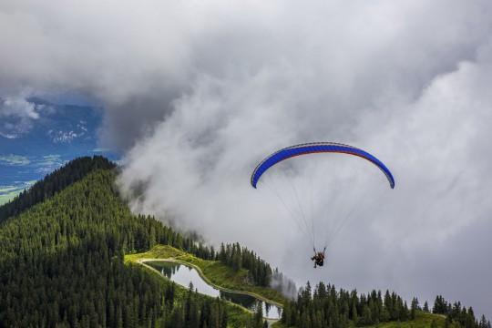 Zillertal: Fallschirm