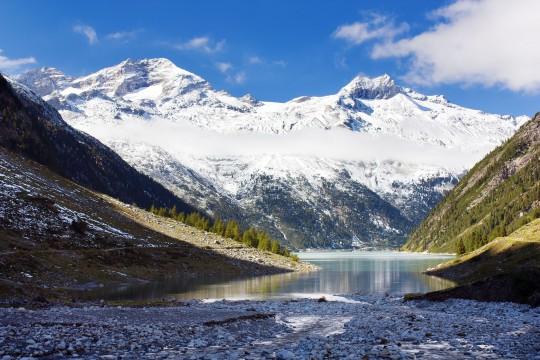 Zillertal: Stausee Schlegeisspeicher