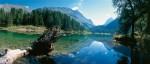 Graubünden: Kristallklarer Bergsee