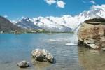Saas-Fee: Karsee in den Walliser Alpen
