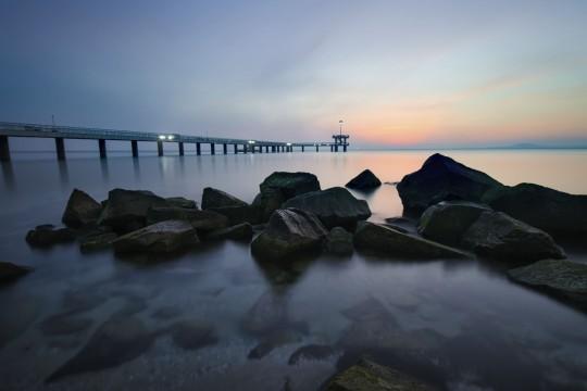 Sonnenstrand: Sonnenaufgang in Burgas