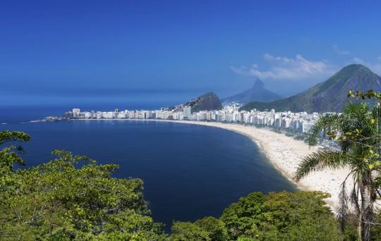 Rio de Janeiro: Strand Copacabana