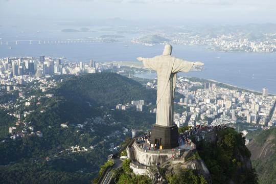 Rio de Janeiro: Blick auf Corcovado