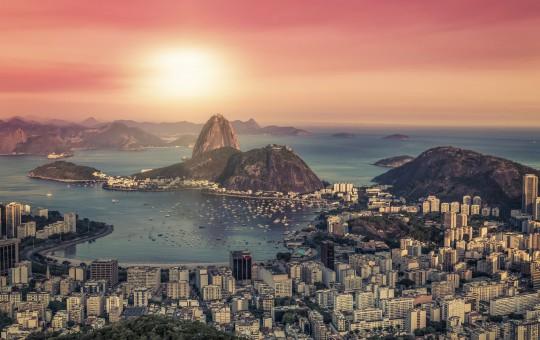 Rio de Janeiro: Sonnenaufgang