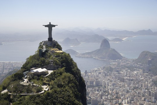 Sehenswuerdigkeiten Rio De Janeiro Christusstatue