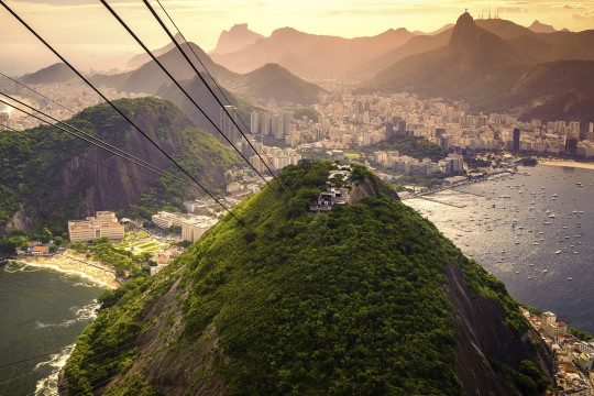 Rio de Janeiro: Corcovado-Berg