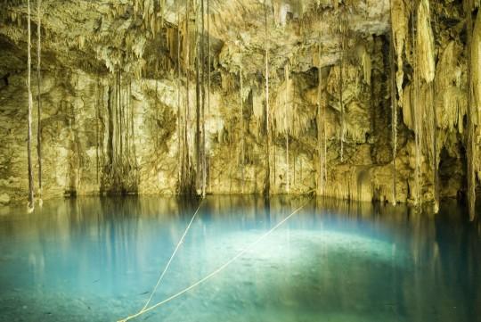Yucatán: Cenote de Dzitnup