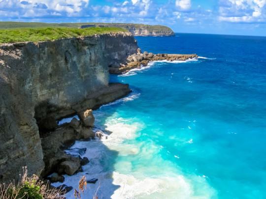 Guadeloupe: Pointe de La Grande-Flugplatz Vigie