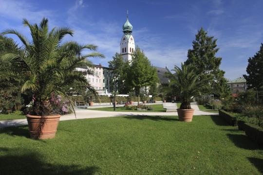 Oberbayern: Riedergarten in Rosenheim