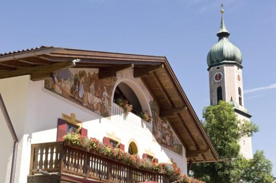 Oberbayern: Altstadt von Garmisch-Partenkirchen