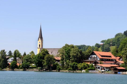 Oberbayern: Schliersee, Ort