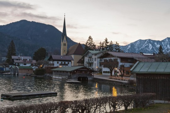 Oberbayern: Tegernsee, Ort
