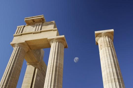 Rhodos: Akropolis von Lindos