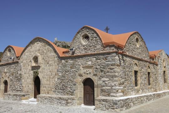 Rhodos: Kirche Kimisis tis Theotokou, Asklipio