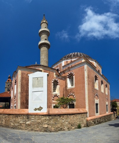 Rhodos: Osmanische Bibliothek und Suleiman-Moschee