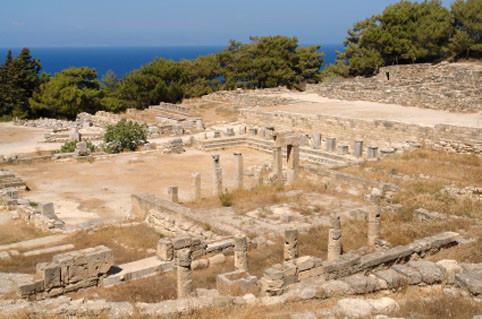 Rhodos: Ausgrabungsstätte Kamiros