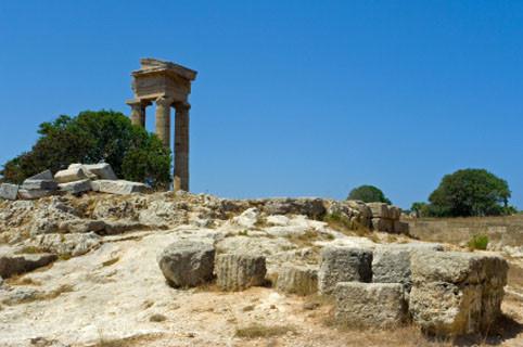 Rhodes: Monte Smith und Akropolis
