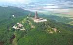 Kyffhäuser: Luftbild Kaiser-Wilhelm-Denkmal