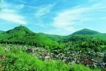 Trifelsland: Ortsansicht von Annweiler