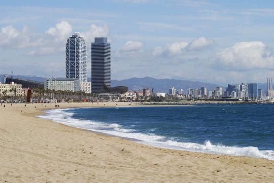 Barcelona: Strand
