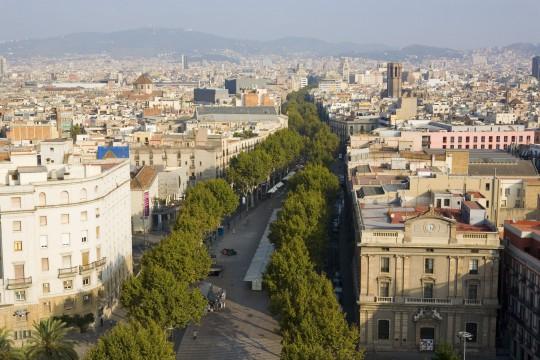 Barcelona: Las Ramblas (La Rambla)